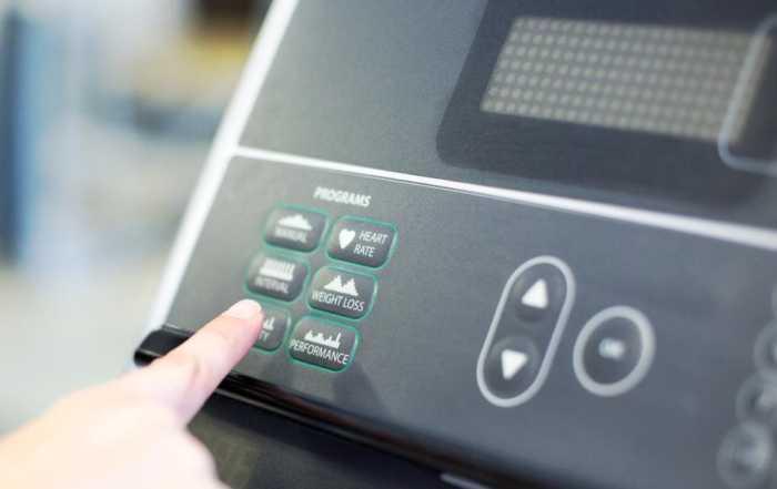 Treadmill Control Panel